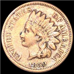 1859 Indian Head Penny LIGHTLY CIRCULATED
