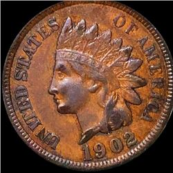 1902 Indian Head Penny LIGHTLY CIRCULATED