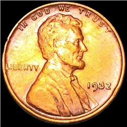 1932 Lincoln Wheat Penny LIGHTLY CIRCULATED