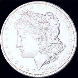 1881-O Morgan Silver Dollar CLOSELY UNCIRCULATED