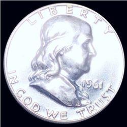 1961 Franklin Half Dollar PROOF UNCIRCULATED
