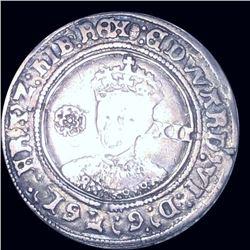 1551-53 Edward VI 1 Shilling NICELY CIRCULATED
