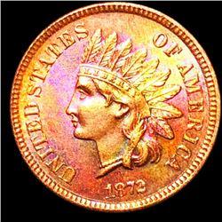 1872 Indian Head Penny GEM BU *KEY DATE*