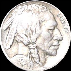 1921-S Buffalo Head Nickel NICELY CIRCULATED