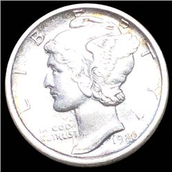 1920-D Mercury Silver Dime UNCIRCULATED