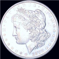1878-CC Morgan Silver Dollar GEM BU