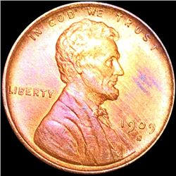 1909-S V.D.B. Lincoln Wheat Penny UNCIRCULATED