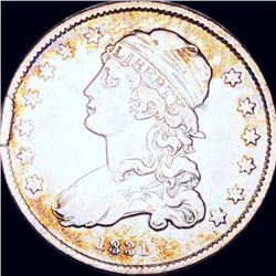 1831 Capped Bust Quarter LIGHTLY CIRCULATED