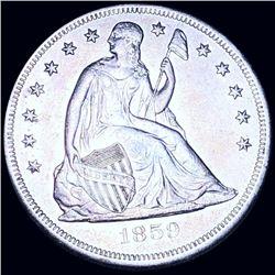 1859-O Seated Liberty Dollar UNCIRCULATED
