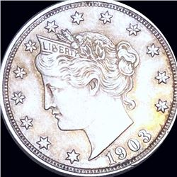 1903 Liberty Victory Nickel LIGHTLY CIRCULATED