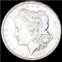 1890-O Morgan Silver Dollar CLOSELY UNCIRCULATED