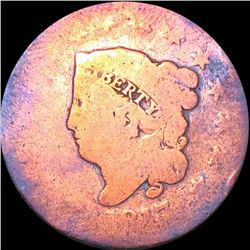 1817 Coronet Head Large Cent NICELY CIRCULATED
