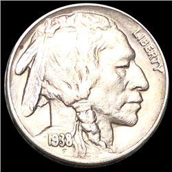 1938-D Buffalo Head Nickel LIGHTLY CIRCULATED