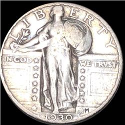 1930 Standing Liberty Quarter LIGHTLY CIRCULATED