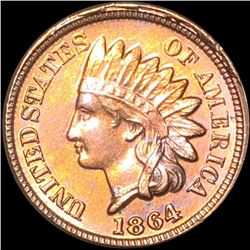 1864 Indian Head Penny CLOSELY UNCIRCULATED