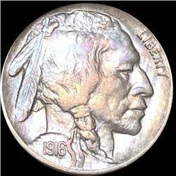 1916 Buffalo Head Nickel LIGHTLY CIRCULATED