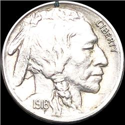 1916-S Buffalo Head Nickel LIGHTLY CIRCULATED