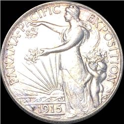 1915-S Panama Half Dollar UNCIRCULATED