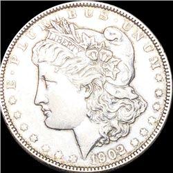 1902 Morgan Silver Dollar ABOUT UNCIRCULATED