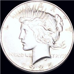 1925 Silver Peace Dollar UNCIRCULATED