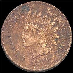 1868 Indian Head Penny NICELY CIRCULATED