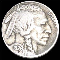 1926-S Buffalo Head Nickel NICELY CIRCULATED