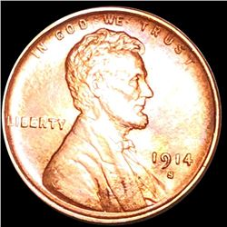 1914-S Lincoln Wheat Penny UNCIRCULATED