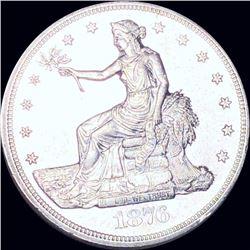 1876-S Silver Trade Dollar UNCIRCULATED