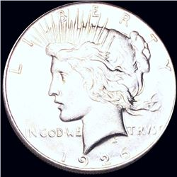 1926-S Silver Peace Dollar ABOUT UNCIRCULATED