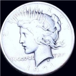 1921 Silver Peace Dollar NICELY CIRCULATED