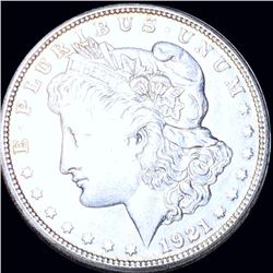 1921-S Morgan Silver Dollar CLOSELY UNCIRCULATED