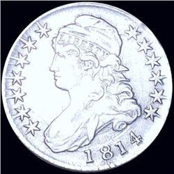 1814 Capped Bust Half Dollar LIGHTLY CIRCULATED