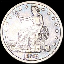 1878-S Silver Trade Dollar LIGHTLY CIRCULATED