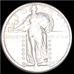 1924-S Standing Liberty Quarter ABOUT UNCIRCULATED