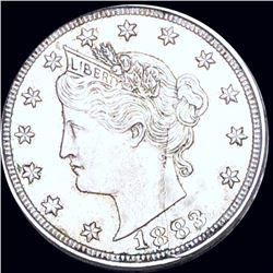1883 Liberty Victory Nickel ABOUT UNCIRCULATED
