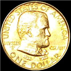 1922 Grant Gold Dollar CLOSELY UNCIRCULATED