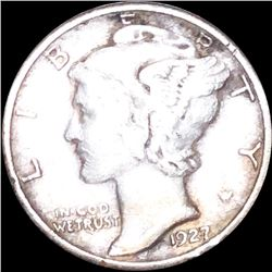 1927-S Mercury Silver Dime NICELY CIRCULATED