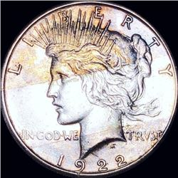 1922-S Silver Peace Dollar CLOSELY UNCIRCULATED