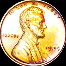 1939 Lincoln Wheat Penny PROOF