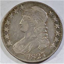 1827 BUST HALF DOLLAR VF/XF