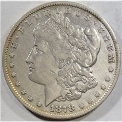 1878-CC MORGAN DOLLAR XF CLEANED