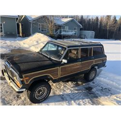 1991 JEEP GRAND WAGONEER 4x4 NO RESERVE!
