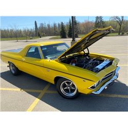 RESERVE LIFTED! 1969 CHEVROLET EL CAMINO SS