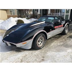 RESERVE LIFTED! 1978 CHEVROLET CORVETTE INDIANAPOLIS 500 OFFICIAL PACE CAR