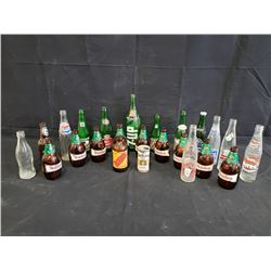 COLLECTION OF CLASSIC BOTTLES NO RESERVE