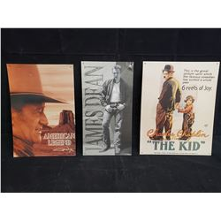 COLLECTION OF METAL MOVIE SIGNS NO RESERVE