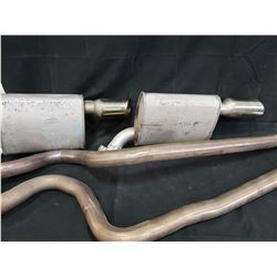 2010 SHELBY GT500 EXHAUST SYSTEM NO RESERVE