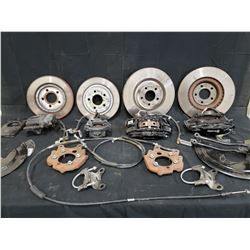 2010 SHELBY COMPLETE BRAKE KIT FRONT AND REAR NO RESERVE