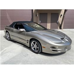 LOWERED RESERVE! 2000 TRANS AM FIRE HAWK SLP CONVERTIBLE