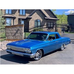 1962 CHEVROLET BISCAYNE 2 DOOR CUSTOM  NO RESERVE